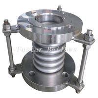 DN15 To 1200 MM Stainless Steel SS304 ANSI Flange Universal Bellow Expansion Joint
