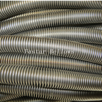 Diameter 1/4inch To 1 1/4inch Stainless Steel Ss304 Ss316l Annular Corrugated Flexible Metal Hose in Coil